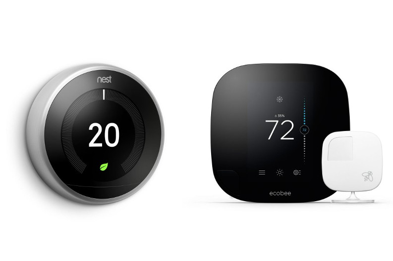 The Battle of the Thermostats – Nest vs. Ecobee
